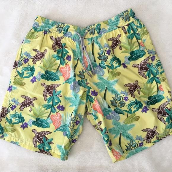 f1de58caa7 Vilebrequin Men's Okoa Turtle Swim Trunks size XXL.  M_5a53ef783800c5f6ff0220f0